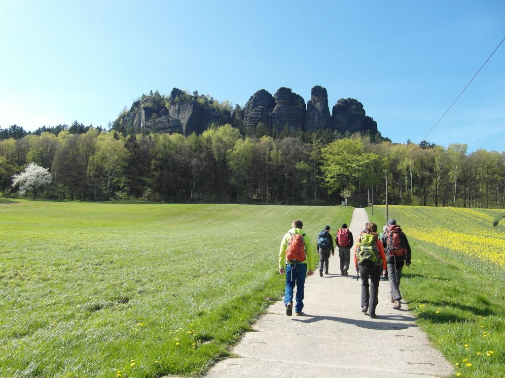 Herberge Bahra - Wanderung in der sächsischen Schweiz